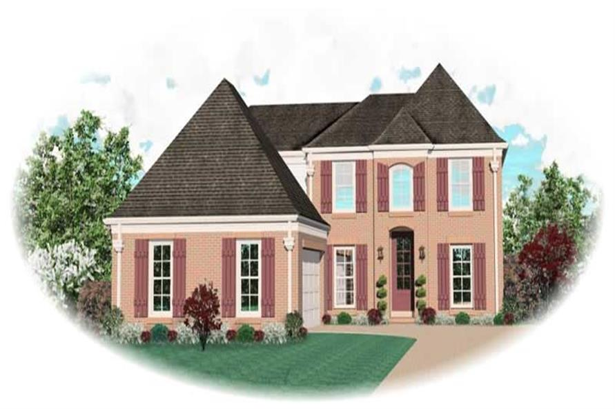 Main image for house plan # 10691