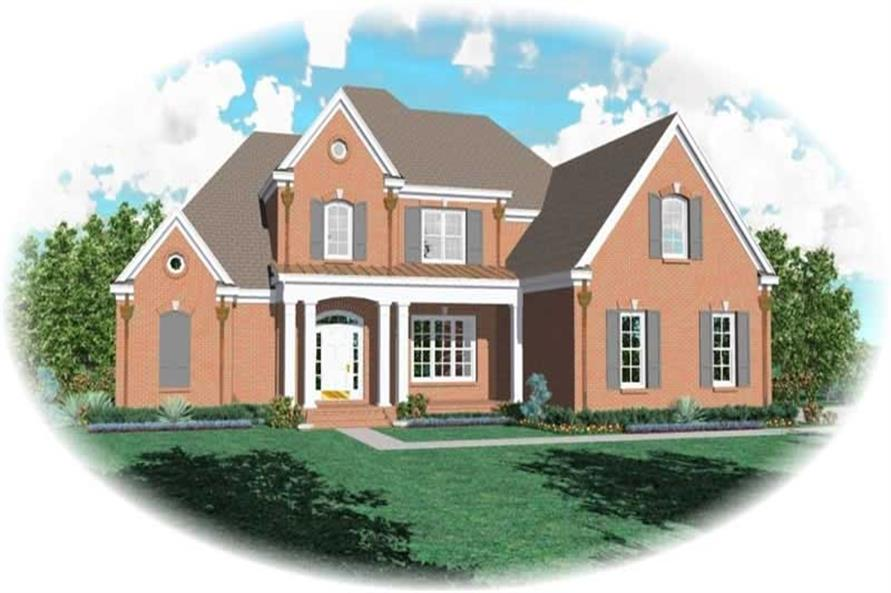 Main image for house plan # 10888
