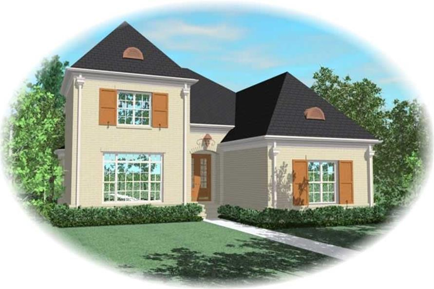 Main image for house plan # 10893