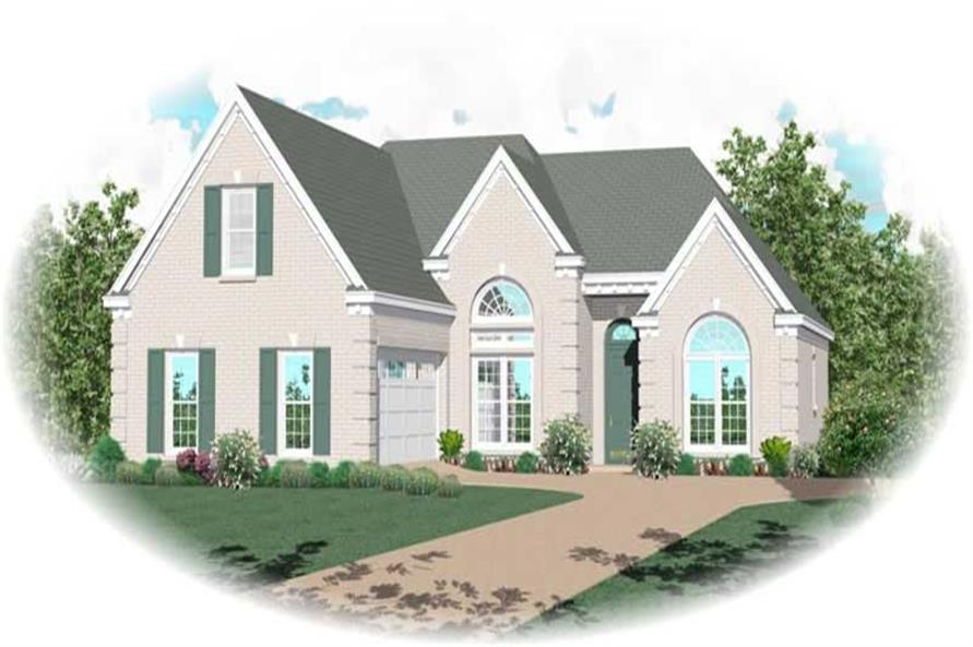 Main image for house plan # 10867