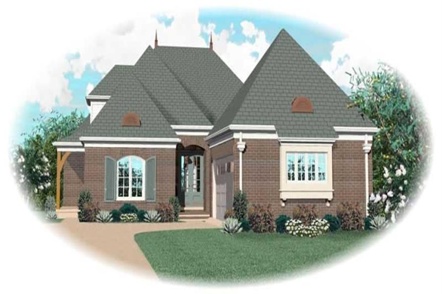 Main image for house plan # 10900