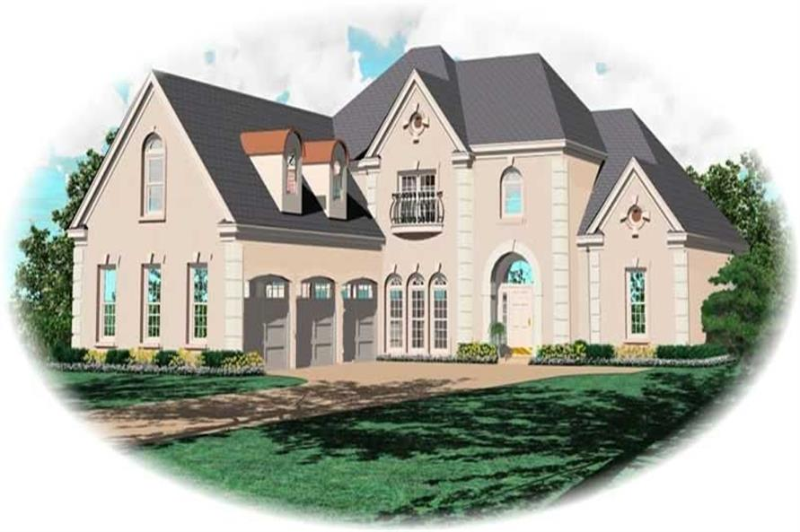 Main image for house plan # 10820