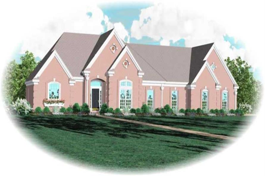 Main image for house plan # 10666