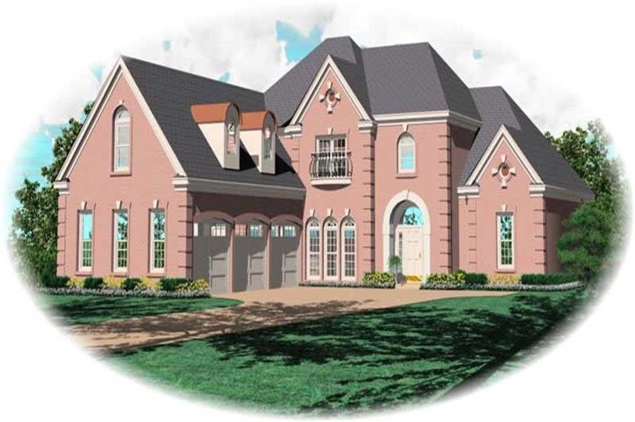 Main image for house plan # 11074