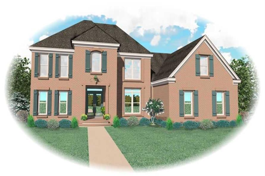 Main image for house plan # 10879