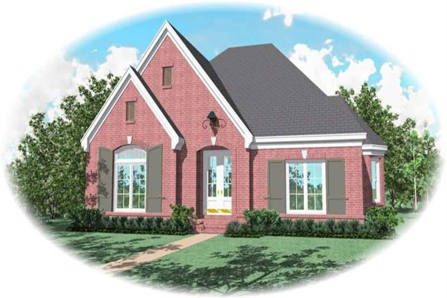 Main image for house plan # 10902