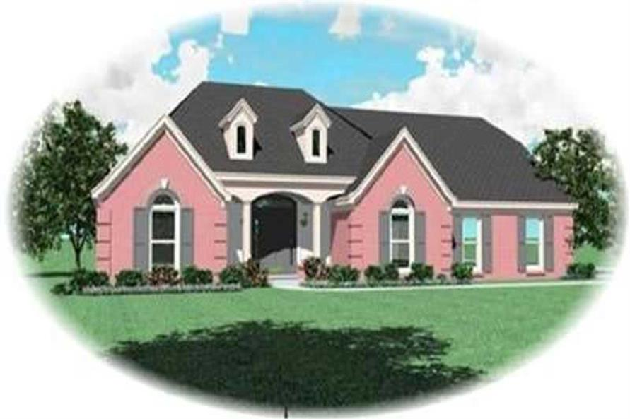 Main image for house plan # 8333
