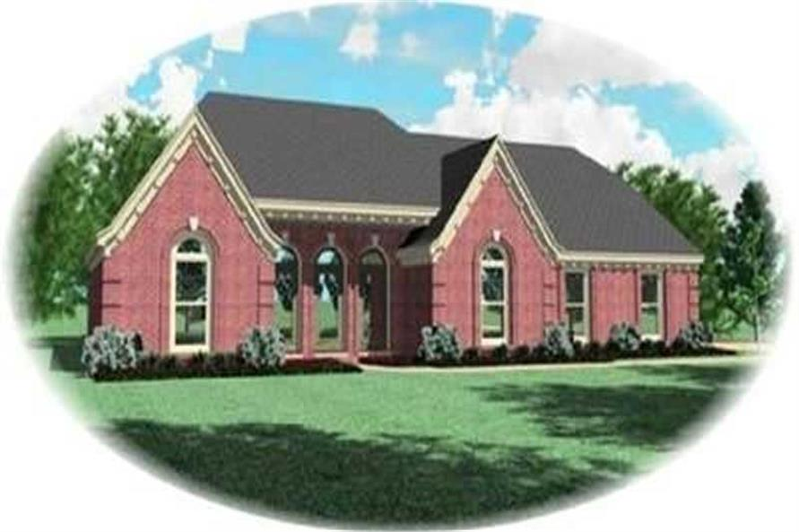 Main image for house plan # 8334