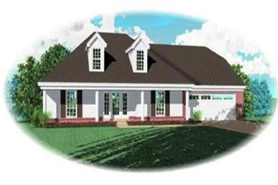 Main image for house plan # 8335