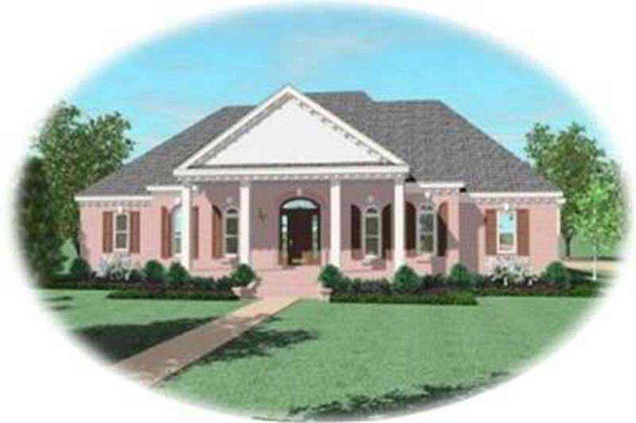 Main image for house plan # 8341