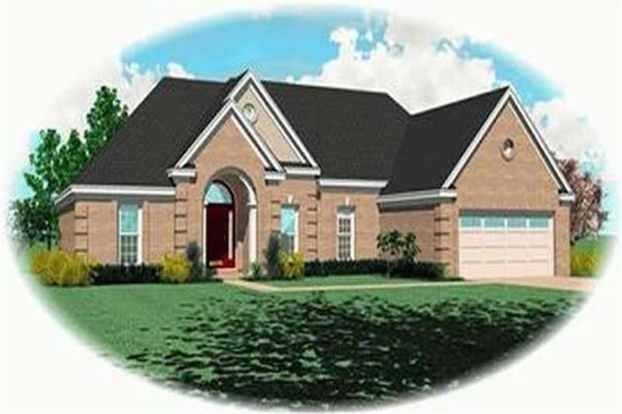 Main image for house plan # 8324