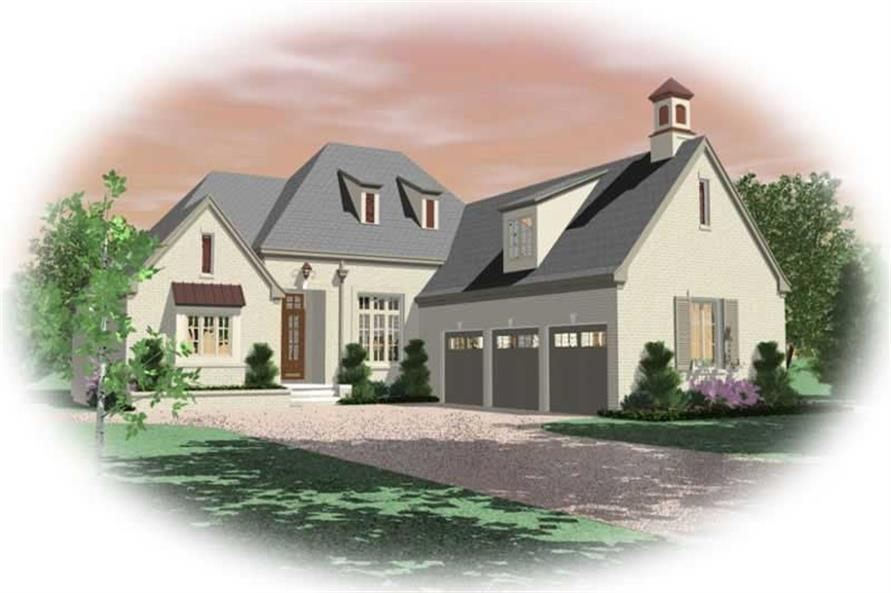 Main image for house plan # 10789