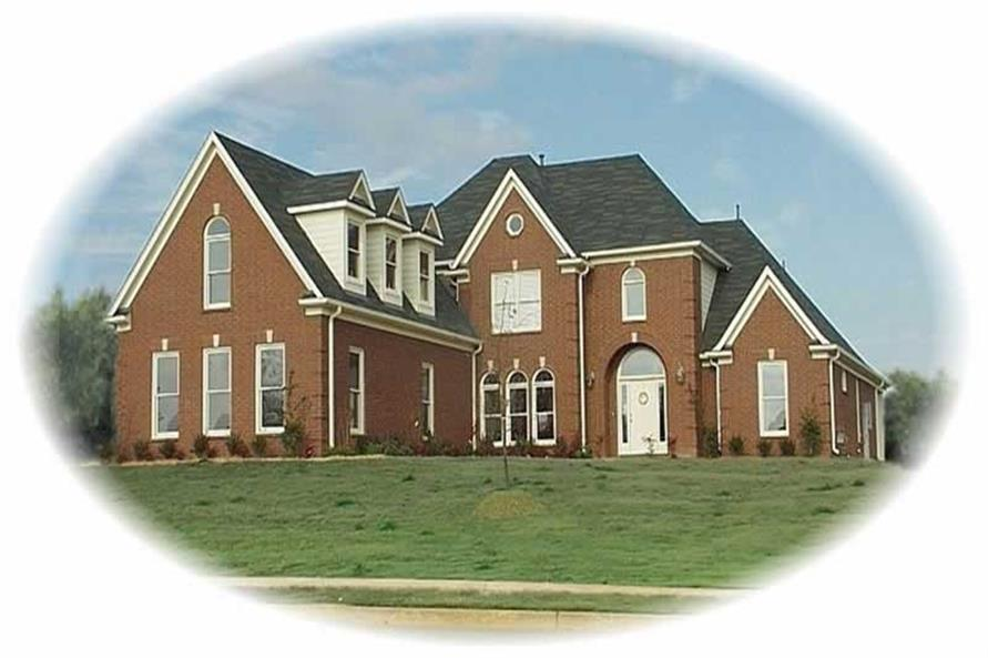 Main image for house plan # 10821