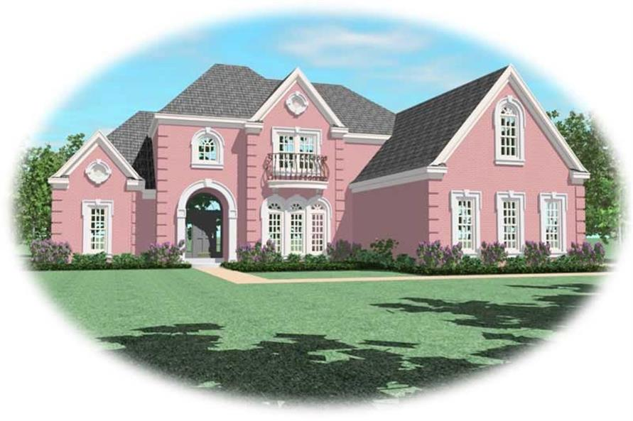 Main image for house plan # 10803