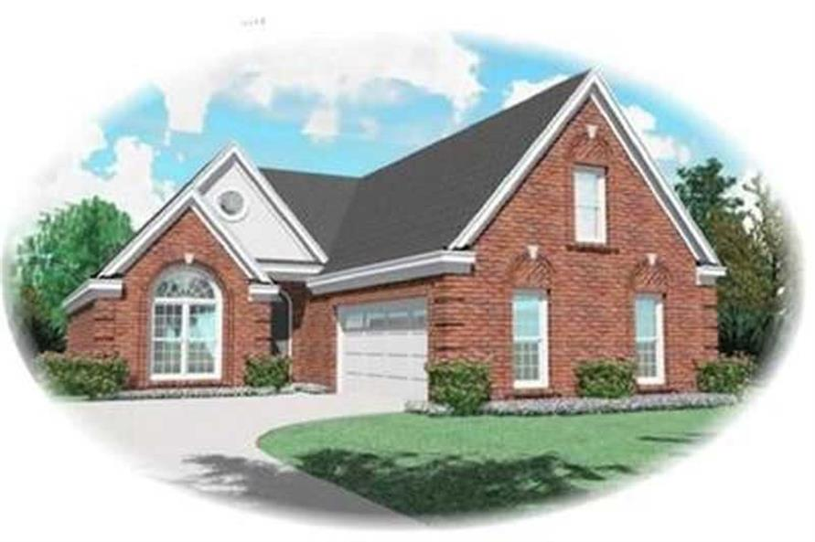 Main image for house plan # 8303