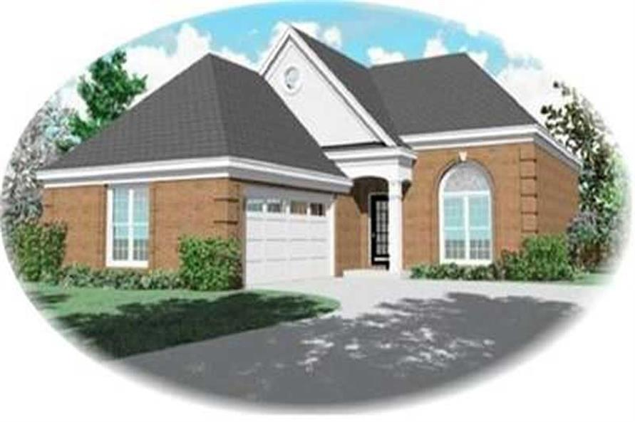 Main image for house plan # 8305