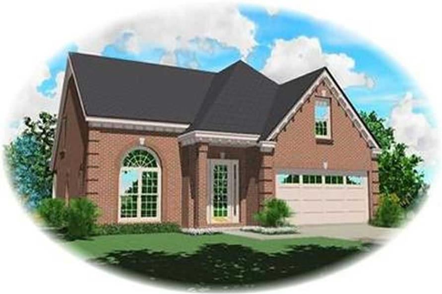 Main image for house plan # 8313