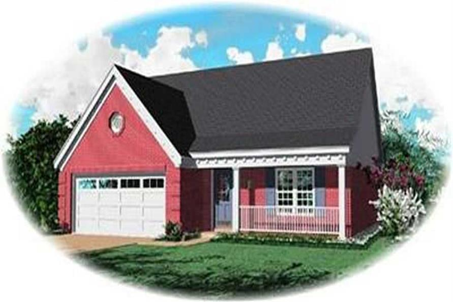 Main image for house plan # 8320
