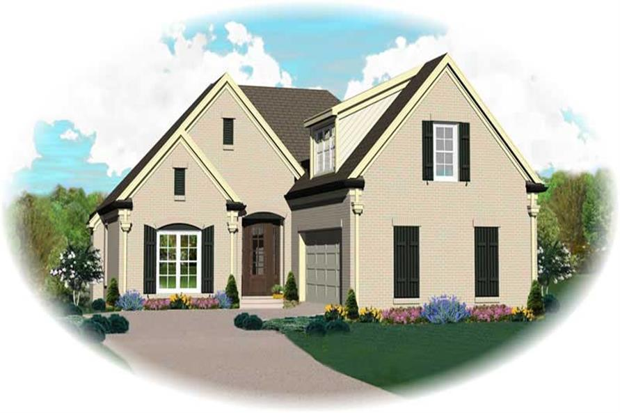 Main image for house plan # 13846