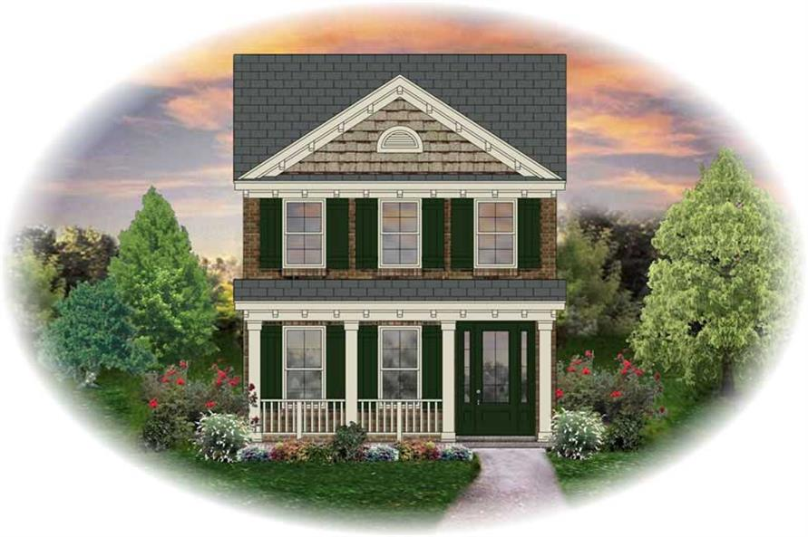 Main image for house plan # 13662