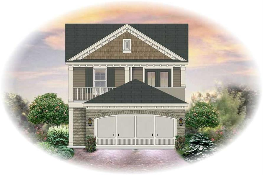 Main image for house plan # 13666