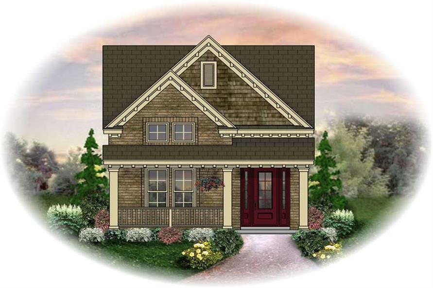 Main image for house plan # 13779