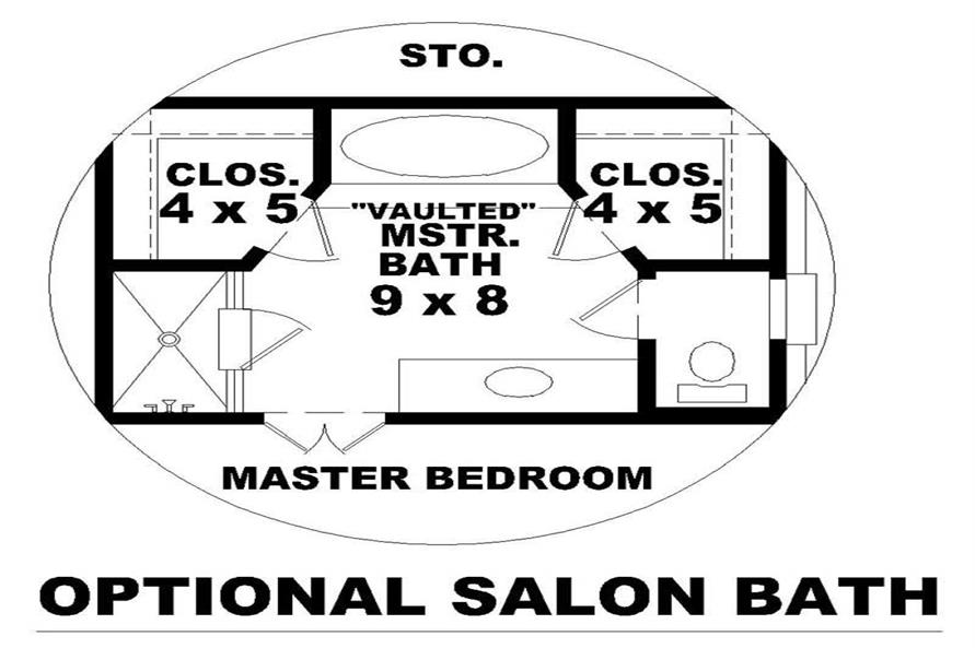 HOME PLAN SPECIAL VIEW
