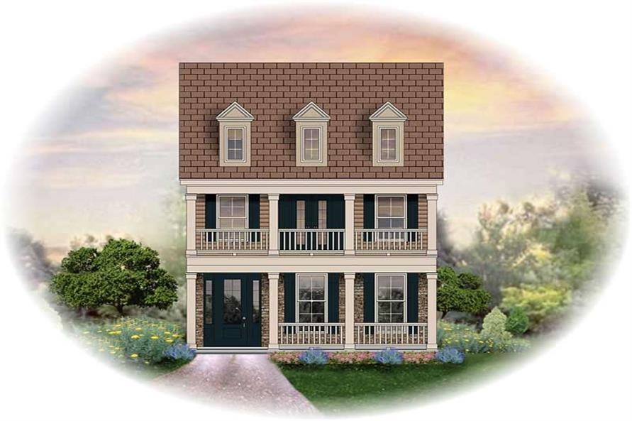 Main image for house plan # 13719