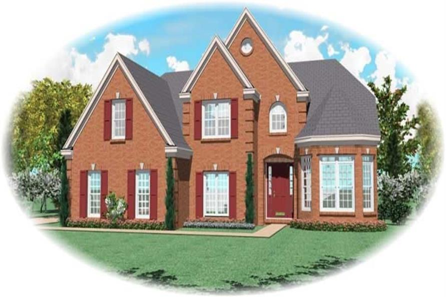 Main image for house plan # 11113