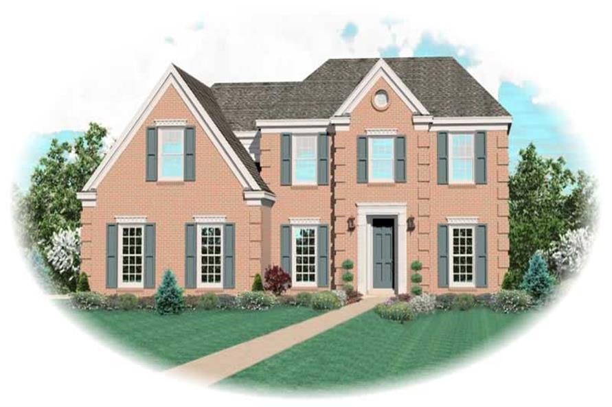 Main image for house plan # 11117