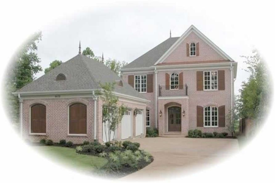 Main image for house plan # 11088