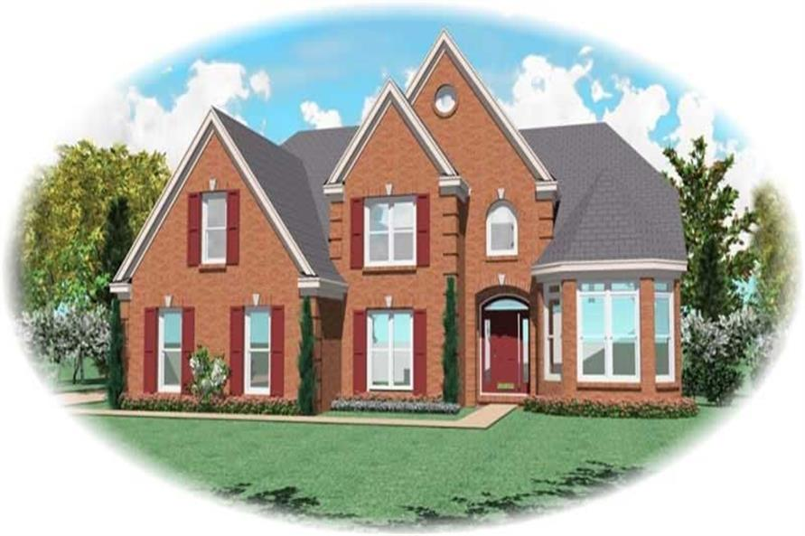 Main image for house plan # 11112