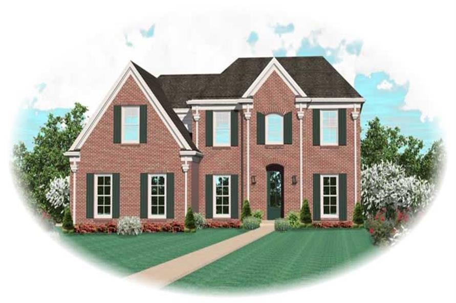 Main image for house plan # 11115