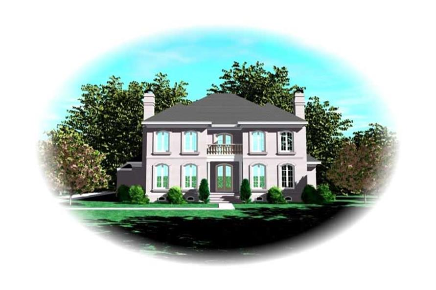 Main image for house plan # 10983