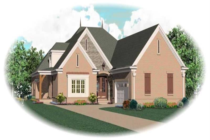 Main image for house plan # 10970