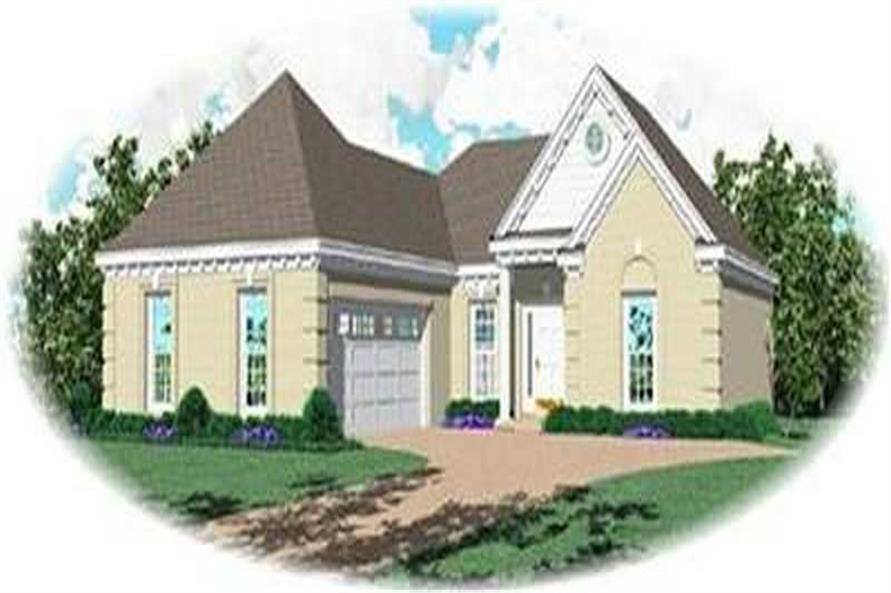 Main image for house plan # 8260