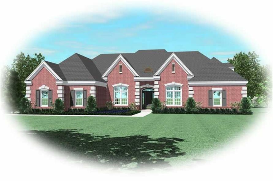 Main image for house plan # 11081