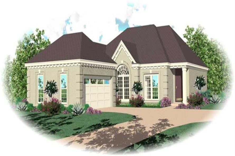 Main image for house plan # 11017