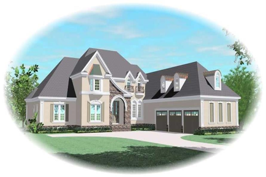Main image for house plan # 11048