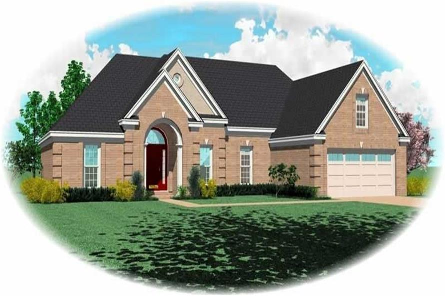 Main image for house plan # 11012