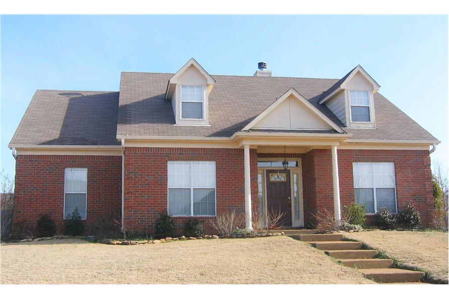 Color Photo of Cape Cod house plan #170-2633