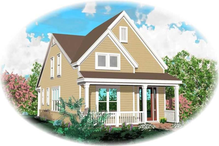 Main image for house plan # 10155