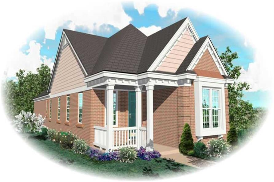 Main image for house plan # 10154