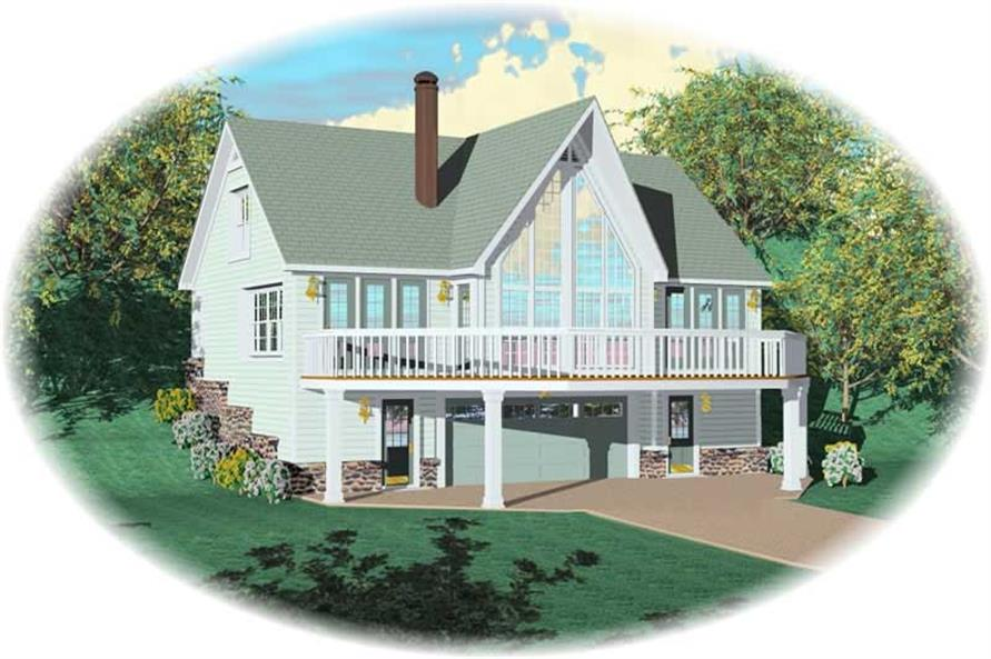 Main image for house plan # 10139