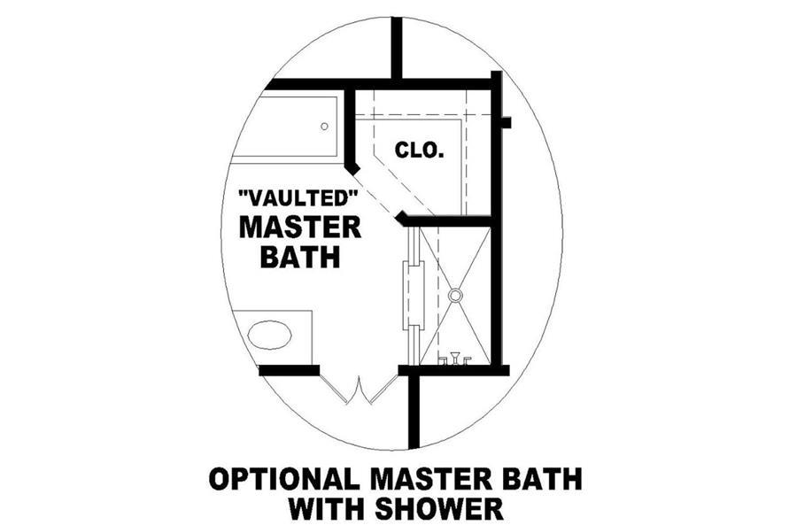 OPTIONAL MASTER BATHROOM