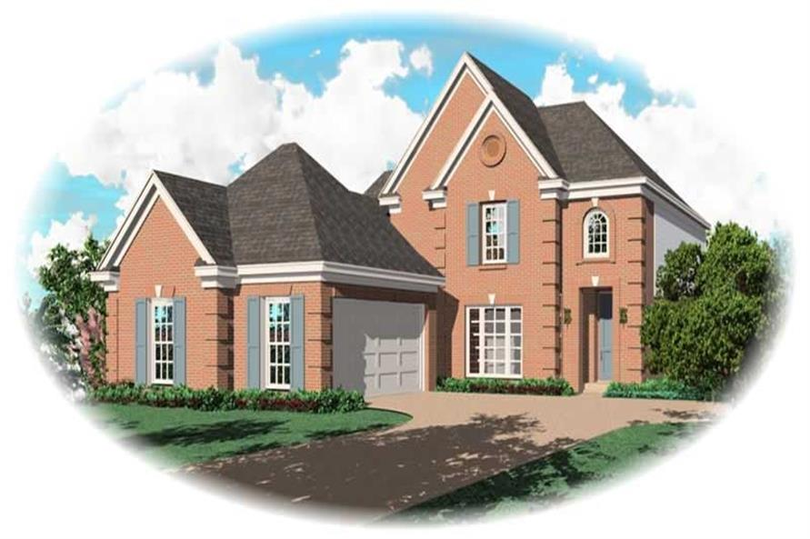 Main image for house plan # 10105