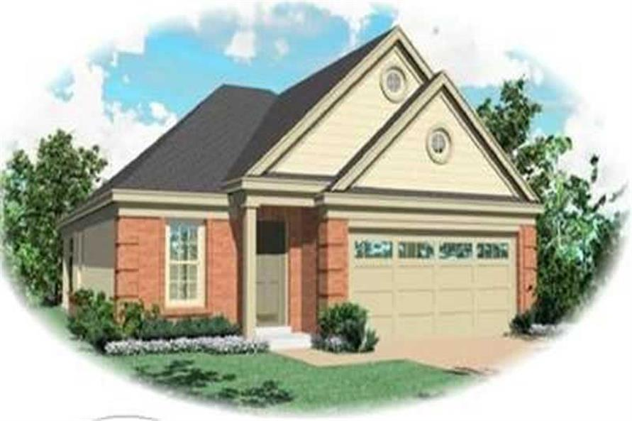 Main image for house plan # 8262