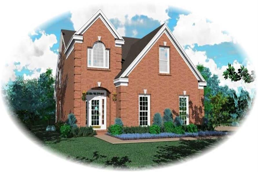 Main image for house plan # 10119
