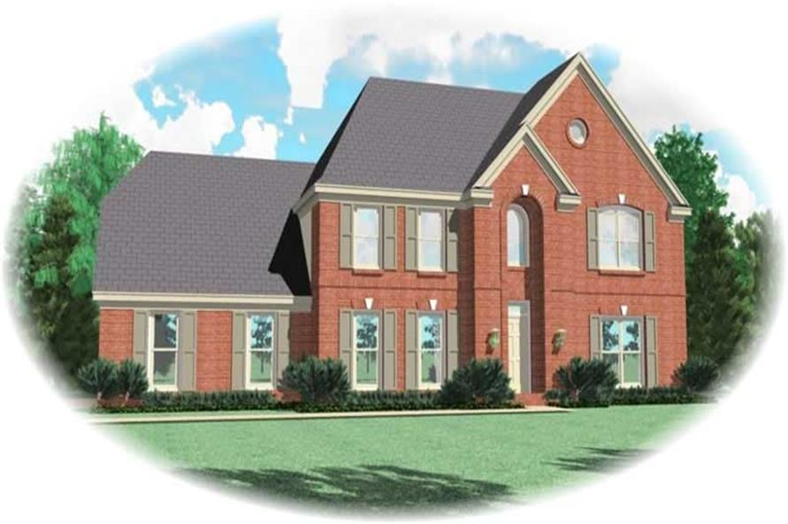 Main image for house plan # 10311