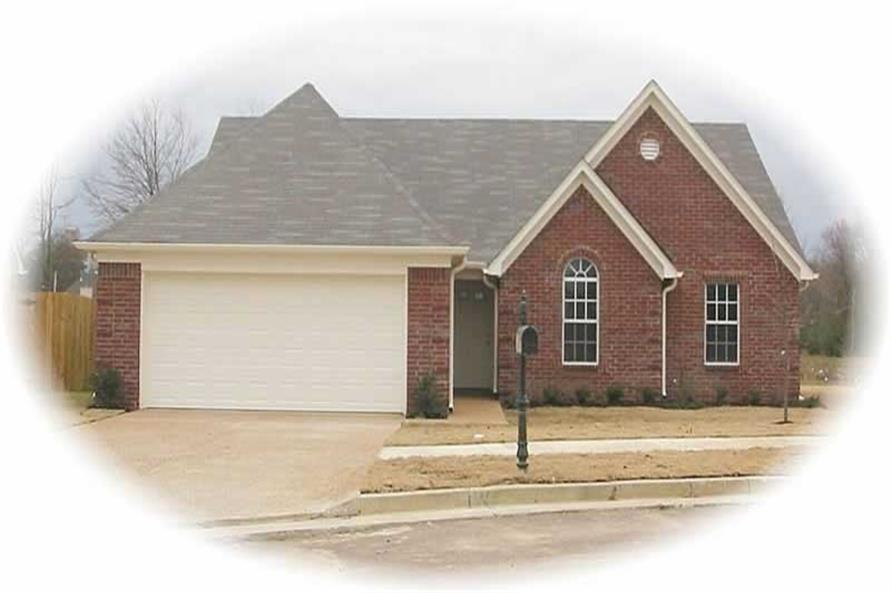 Main image for house plan # 10301